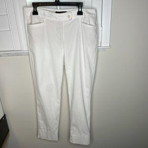 Talbots Hampshire Petite White Pants